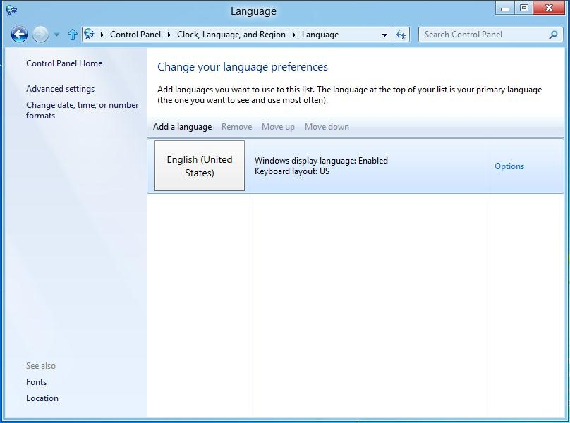 languages Windows 8   Using the language you want