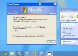 Windows XP vs. Windows 8