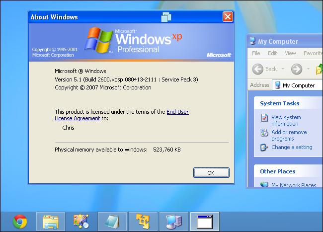 can i upgrade my windows xp to windows 8.1